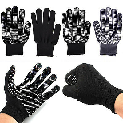 £1.70 • Buy 2pcs Heat Proof Resistant Protective Gloves For Hair Styling Tool Straightener B
