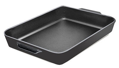 Samuel Groves Cast Iron Grill Griddle Pan 32 Cm Frying BBQ Baking Cooking Dish  • 28.74£