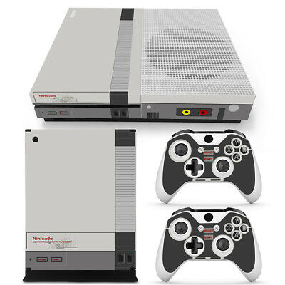 $19.99 • Buy Xbox One S Console Skin Decal Sticker Old NES Retro + 2 Controller Design Set