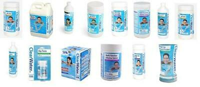 Clearwater Chemicals For Spas And Pools Chlorine PH Plus Clarifier • 79.99£