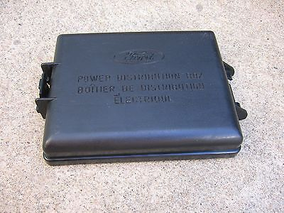 $24.95 • Buy 99-04 Ford Mustang Engine Compartment Under Hood Fuse Box Door Lid Cover Factory