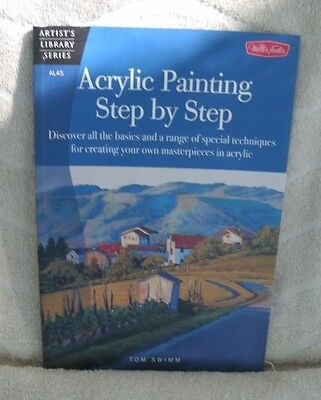 $7.95 • Buy Artist's Library Series: Acrylic Painting Step By Step *NEW* Paperback
