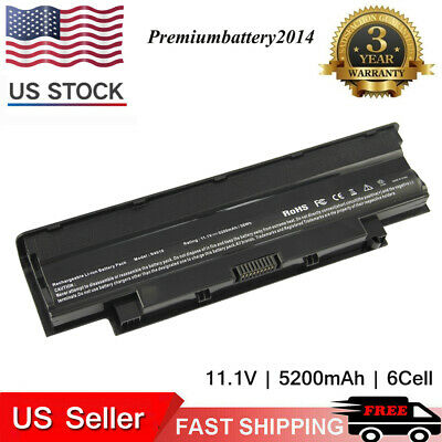 $13.95 • Buy BATTERY FOR DELL J1KND INSPIRON M5030 N4010 M5010 N5110 14R 15R 17R 6cells