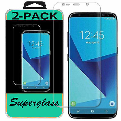 $ CDN2.41 • Buy 2X Samsung Galaxy S8 S8Plus & Note 8 HD Clear Full Coverage Screen Protector