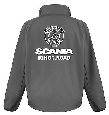 £32.99 • Buy Scania King Of The Road Printed Softshell Jacket
