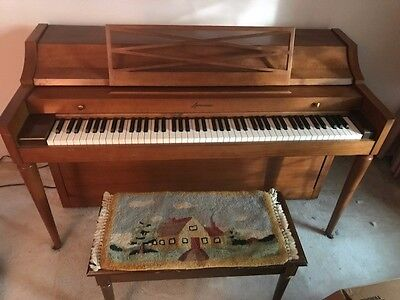 $3800 • Buy BALDWIN ACROSONIC SPINET PIANO With Piano Bench Circa 1966