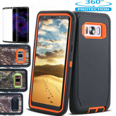 AU15.98 • Buy For Samsung Galaxy Note 8 S9 S8 Plus Case Shockproof Heavy Duty Armor Hard Cover