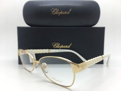 a683d1759f1 Chopard Vch964 0300 23kt Gold Frames Eye Glasses 55-15-135 New W.