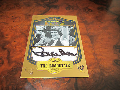 AU55 • Buy Richmond Tigers - Royce Hart Immortal Captain Select Signature Signed Card