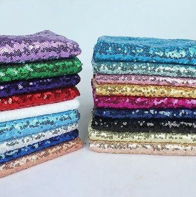 Sequin Fabric Novelty Sparkly Shiny Bling Material Cloth 130cm Wide 1, 1/2 Metre • 5.20£