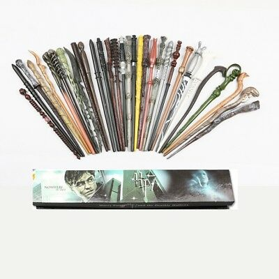 Harry Potter Dumbledore Hermione Voldemort Ron Weasley Snape Malfoy Magic Wand • 6.90£