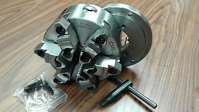 AU347.11 • Buy 6  6-JAW SELF-CENTERING  LATHE CHUCK Top&bottom Jaws D4, D1-4 Adapter-new