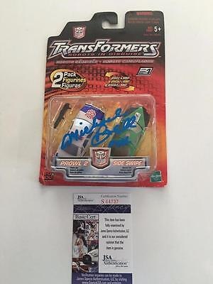 Michael Bell Transformers Voice Sideswipe Prowl Jsa Signed Toy Sealed Coa • 50.06£