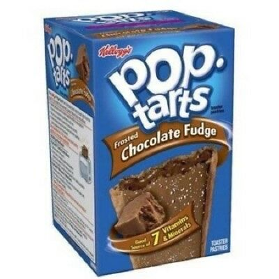 2 X Pop Tarts Frosted Chocolate Fudge 416g (Best Before Date-09/10/20) • 7.99£