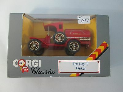 $16.28 • Buy Corgi Classics Ford Model T Tanker San Francisco Fire Dept