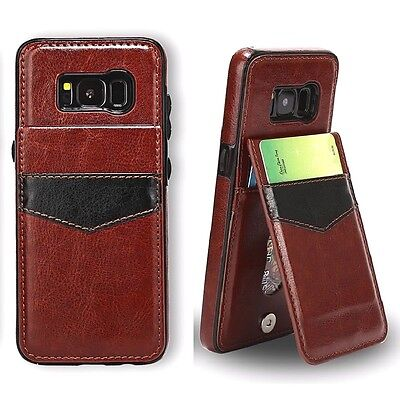 $ CDN7.99 • Buy Samsung Galaxy S6 S7 S8 S9 S10 S10+ E Leather Card Wallet Stand Back Cover Case