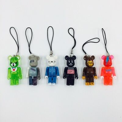 $49.99 • Buy MEDICOM BEARBRICK Complete Set Of 6 ZOZOTOWN Pepsi Nex 70% Be@rBrick Bape Tommy