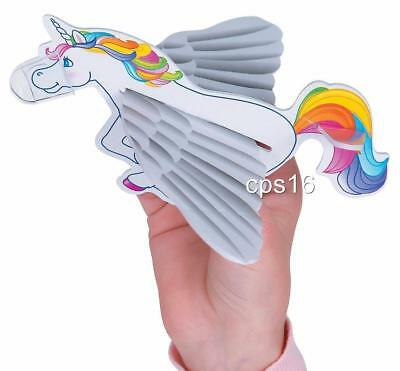 AU7.95 • Buy 8 Unicorn Gliders...Rainbow Party Favours...Loot Box Fillers...Craft...Treat Box
