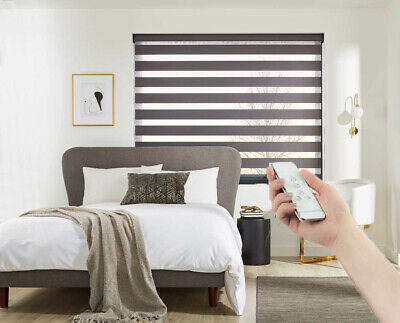 £274.48 • Buy MOTORISED Day & Night Blinds With Remote Bi-Fold Sliding Doors Made To Measure