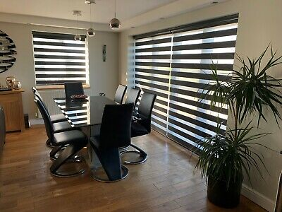 £245.92 • Buy MOTORISED Day&Night Blinds With Remote Control Made To Measure Smart Home Ready