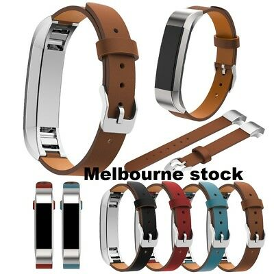 AU9.48 • Buy Replacement Genuine Leather Wrist Watch Band Strap Bracelet For Fitbit Alta AU