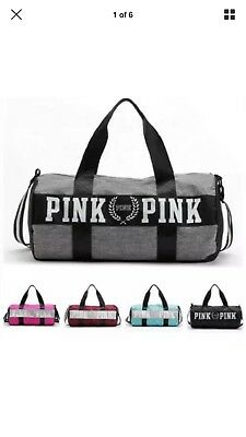 ad0a8fc70a3c Victoria s Secret Bag - Love Pink Duffel   Gym Bags - Pick Any Color - •