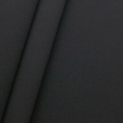 £5.99 • Buy 100% PURE COTTON TWILL FABRIC  60  Wide BY THE METRE, COLOR -DARK GREY