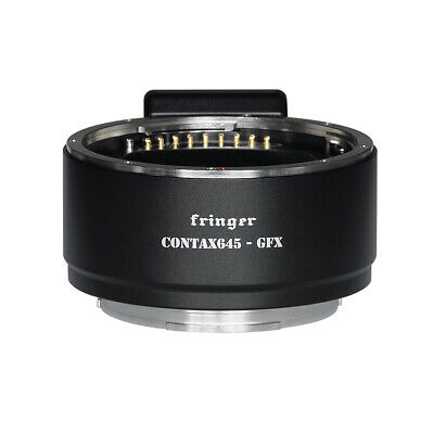 $ CDN1008.90 • Buy Fringer Auto Focus Adapter Contax 645 C645 Lens To Fuji GFX100 50S 50R Camera