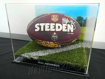 AU359.99 • Buy ✺Signed✺ MAL MENINGA Queensland Football PROOF COA Raiders Origin Jersey NRL