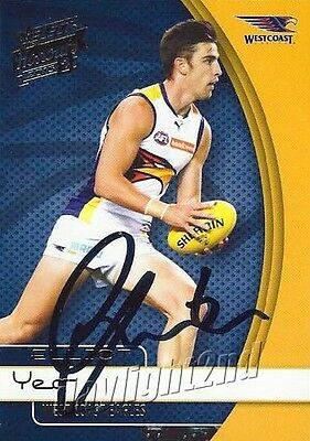AU9.99 • Buy ✺Signed✺ 2015 WEST COAST EAGLES AFL Card ELLIOT YEO