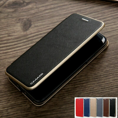 AU12.99 • Buy IPhone 11/Pro/Max XS XR X 8/7 Magnetic Leather Wallet Card Slim Case Flip Cover