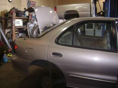 $150 • Buy Rear Bumper Excluding Z24 Body Colored Smooth Fits 95-99 CAVALIER 716503