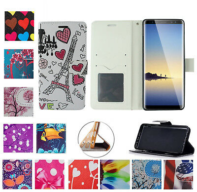 $ CDN10.11 • Buy For Samsung Galaxy NOTE 8 Note8 Case Wallet Folio Stand Pouch Screen Flip Cover