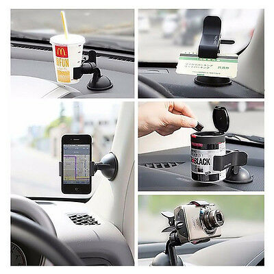 AU2.64 • Buy Car AUTO ACCESSORIES General 360° Rotating Phone Windshield Mount GPS Holder