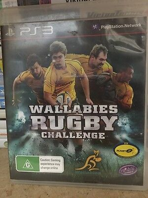 AU5.80 • Buy Wallabies Rugby Challenge PS3