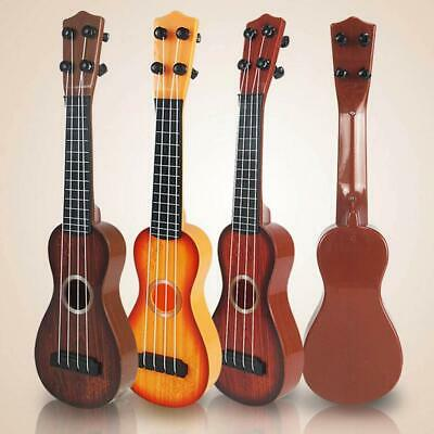 AU19.27 • Buy Beginners Ukulele Musical Basic Instrument Kids Musical Toys  4 Strings 3+ Years