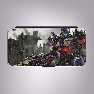 £8.88 • Buy Transformers 3 Optimus Prime LEATHER FLIP PHONE CASE COVER Fit IPHONE SAMSUNG