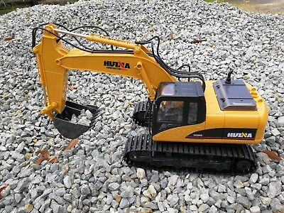 AU79 • Buy Au Store Remote Control HUINA 1:14 2.4G 15CH Die-Cast Tractor Excavator Digger