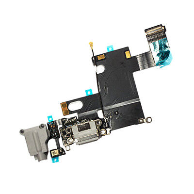 GREY Charging Block Port Dock Assembly Flex Cable For IPhone 6 4.7  A1549 A1586 • 7.98£