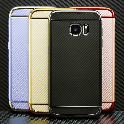 $ CDN3.16 • Buy Silicone Case Cover Protective Carbon Cover For Samsung GALAXY S7 S8 A3 A5 J3