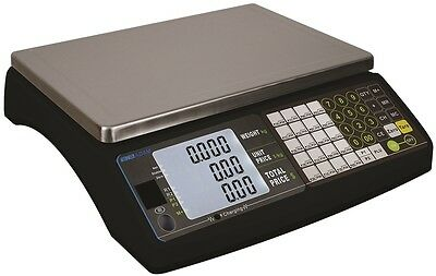 30KG Price Retail Scale/Shop Scales Legal Trade Approved Deli Butcher Fish Sweet • 162£
