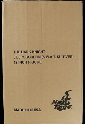 $ CDN441.44 • Buy Hot Toys MMS182 Batman The Dark Knight 1/6 Lt. Jim Gordon S.W.A.T. Suit Open New