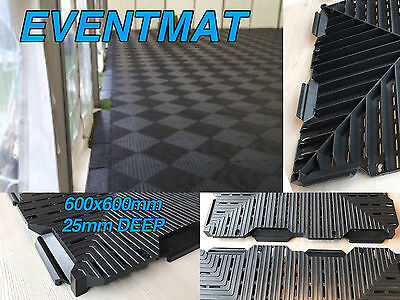 £750 • Buy Event Track Marquee Flooring Field Track Mats Path Temporary Grass Protection
