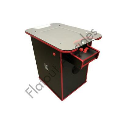 £760 • Buy Arcade Cocktail Table Machine 60 Retro Games 2 Player Gaming Cabinet UK Made