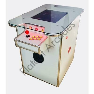 £879.95 • Buy Arcade Cocktail Table Machine 412 Retro Games 2 Player Gaming Cabinet UK Made