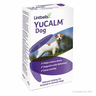 £17.45 • Buy Lintbells YuCalm Yucalm Calming Stress Tablets Dog Fireworks Anxiety 30 Tablets