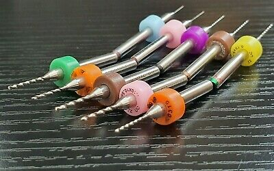 PCB Tungsten Carbide Micro Drill Bits & End Mills Circuit Individuals Or 10pcs • 6.99£