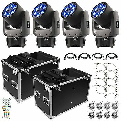 Chauvet Intimidator Trio LED Moving Head Beam Wash Effect 6-LED RGBW Package • 4,295£