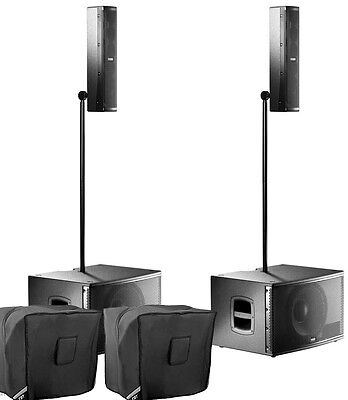 £2640 • Buy FBT Audio Vertus CS1000 Pair Package Compact Line Array Integrated System & Bags