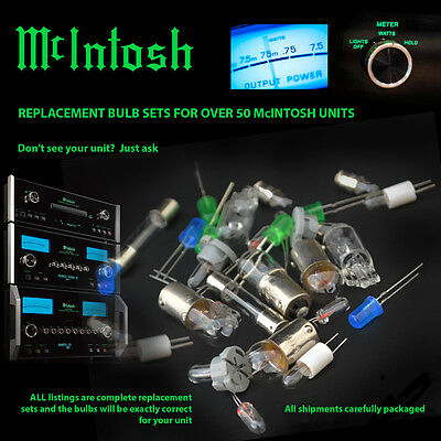 $30 • Buy McIntosh Replacement Bulbs - Complete Set For MA6100 - 14 Bulbs